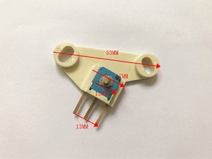 Image 3 - Original new 100% RVQ121 12V 502 5K ceramic potentiometer belt plate PPS GF40 360 turn (SWITCH)