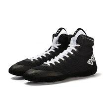 Мужская борцовская обувь унисекс для мальчиков, тренировочная обувь с подошвой из коровьей кожи, спортивные ботинки, кроссовки, профессиональная боксерская обувь для мужчин