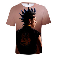 2021 Hot Sale TV Series Cobra Kai 3D Print T-Shirt Men/Women Casual Fashion Harajuku Short Sleeve Streetwear Oversized Clothes