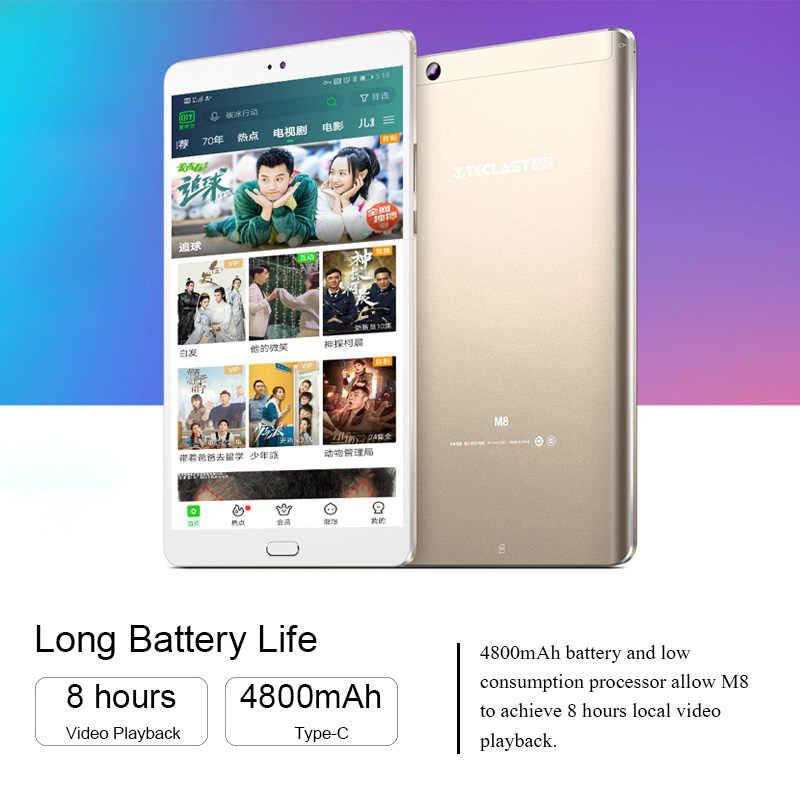 8.4 inç Tablet Teclast M8 Android Tablet Netbook 3GB RAM 32GB ROM 2560x1600 dört çekirdekli Tablet çift Wifi