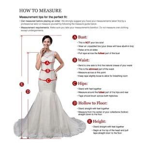 Image 5 - Romantic Mermaid Long Sleeves Wedding Dress Robe Mariage Femme Black Appliques Bride Dresses Africa Bridal Gowns Vestido Novias