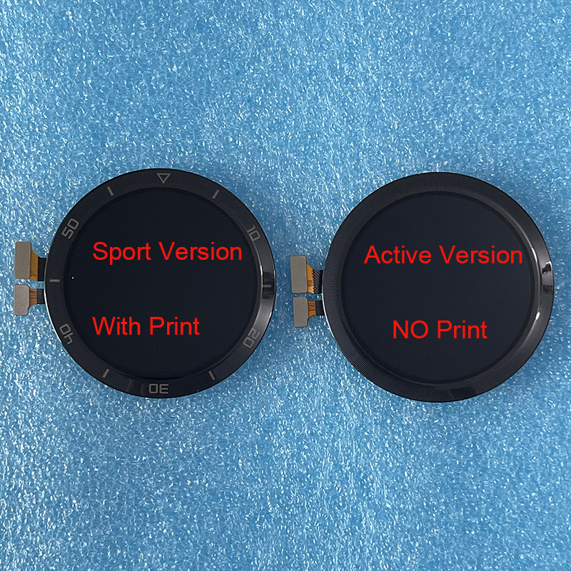 ЖК-дисплей для Huawei Watch GT2E 46 мм, оригинальный сенсорный экран 1,39 дюйма с цифровым преобразователем для Huawei Watch GT 2e HCT B19