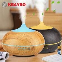 300ml aroma difusor aromaterapia grão de madeira difusor de óleo essencial ultra sônico umidificador de névoa fria para o escritório em casa