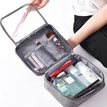 Косметичка для путешествий моющаяся сумка женщин и мужчин деловая