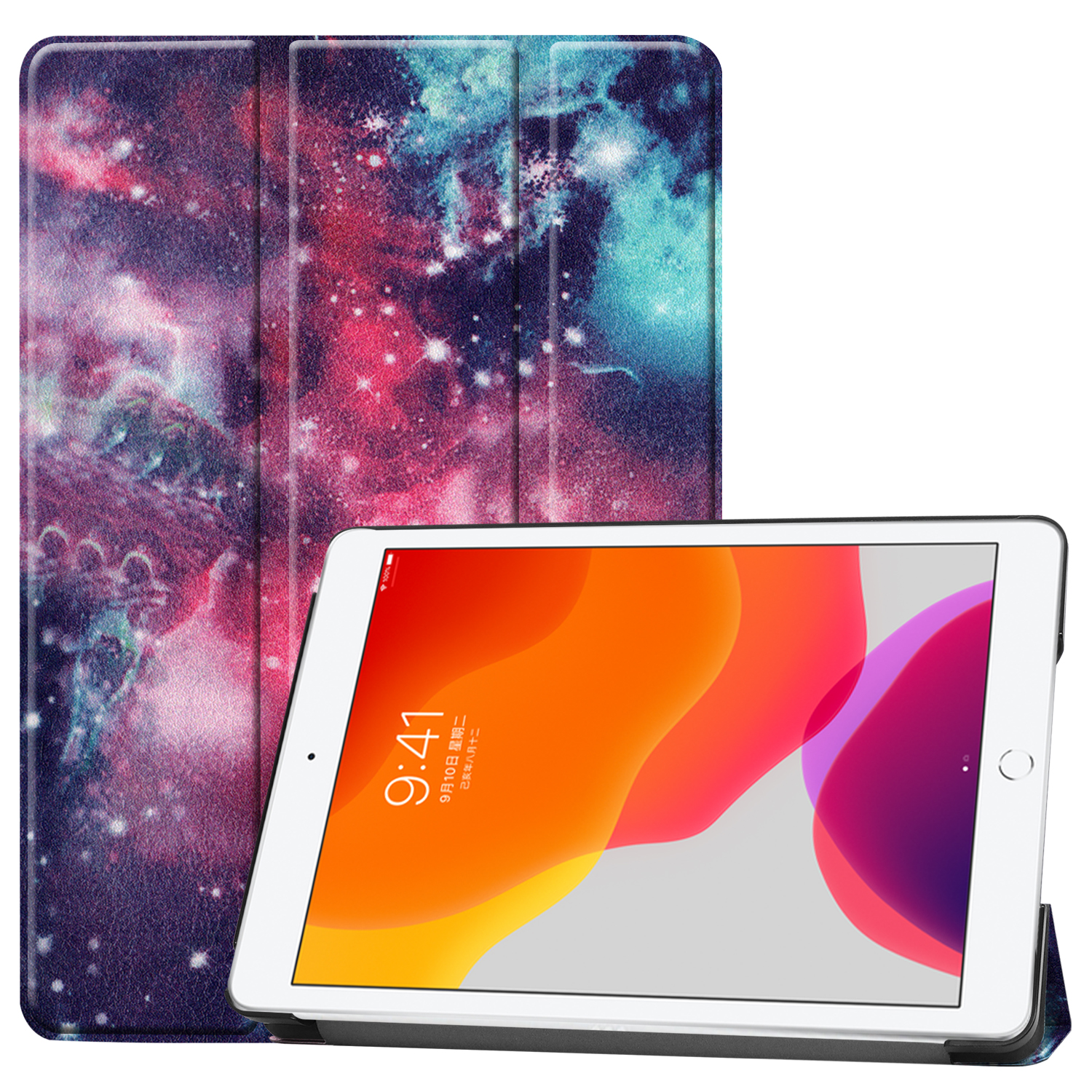 Apple A2428/a2429 for iPad/8th/Cas Smart-Cover 8-8th-Generation Case iPad Magnetic Sleep