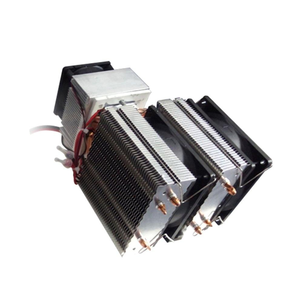 Cooler DC 12V 4//6 Chip Semiconductor Refrigeration Machine Cooler DIY Radiator Air Cooling Device DC 12V 4 Chip