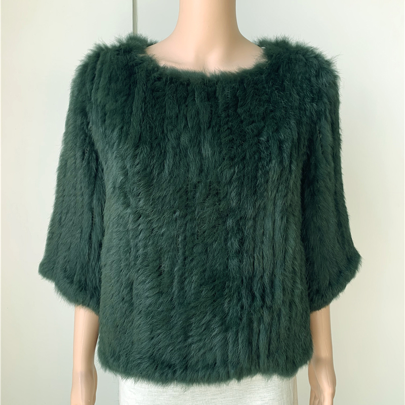 Sales Clearance  Real Rabbit Fur Coat