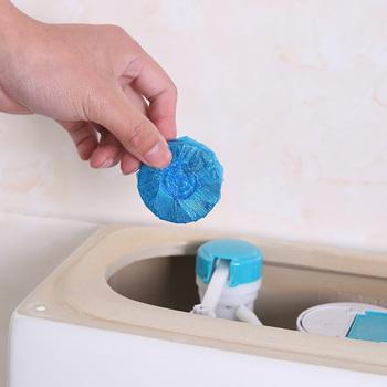 Środek czyszczący do wc piłka potężna automatyczna toaleta spłukiwana miska dezodorująca do czyszczenie łazienki SP99 tanie i dobre opinie Tablet 4 sztuk Inne