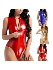 SLatex Bodysuit Cloth...