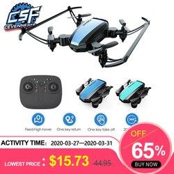 2020 nowy global drone GW125 drony dla dzieci wysokość nad poziomem morza helikopter rc Mini Drone Wifi FPV Quadcopter's postawy polityczne w E58 S9W Juguetes Dron w Helikoptery RC od Zabawki i hobby na