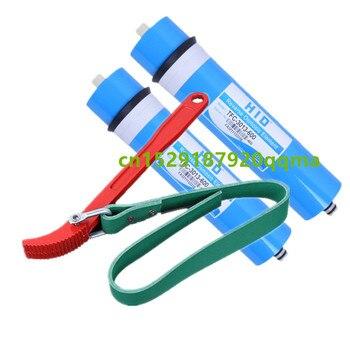 2pcs 600gpd reverse osmosis filter HID 3013-600 membrane water filter cartridges ro system filter membrane + universal wrench