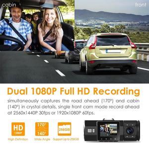 Image 4 - Vantrue N2プロダッシュカムデュアルレンズ1080 1080p車dvrカメラのビデオレコーダー + gps受信機モジュール + 12 12v/24に5 5vミニusbハードワイヤキット