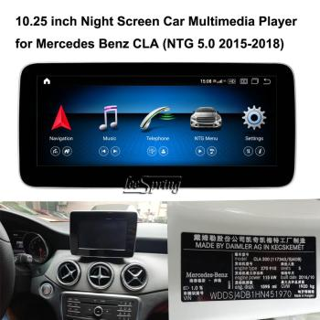 10.25 inch Touch Screen Android 10.0 Car Multimedia Player for Mercedes Benz CLA C117 X117 CLA 260 200 2013-2019 image