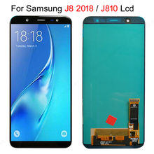 6.0 Super AMOLED LCDs Display For SAMSUNG J8 2018 LCD for Samsung J810 J8 2018 LCD Screen Touch Digitizer Assembly can Adjust