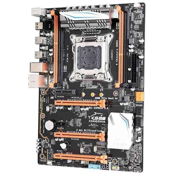 JINGSHa X79 P3 материнская плата LGa 2011 V2 4 канала 64 ГБ DDR3 ECC RAM NVME M.2 USB3.0 SATA3.0 PCI E3.0 Поддержка Intel Xeon V1 V2 и|Материнские платы|   | АлиЭкспресс