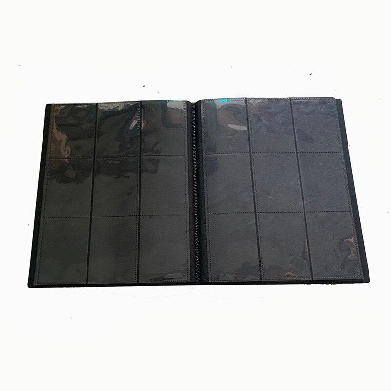 Image 4 - 360 карт вместительный Карманный держатель связывающие Альбомы для CCG MTG Magic Yugioh настольная игра карта Книга рукав держательНастольные игры   -