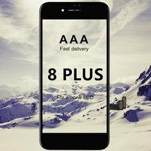 ЖК экран для iphone 8 plus 10 шт дисплей aaa лучший сменный