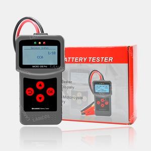 Image 5 - Lancol Micro200Pro 12 V Batteria Auto Tester 40 a 2000CCA 12 Volt Utensili a Batteria Per La Macchina Rapido A Gomito di Ricarica diagnostica