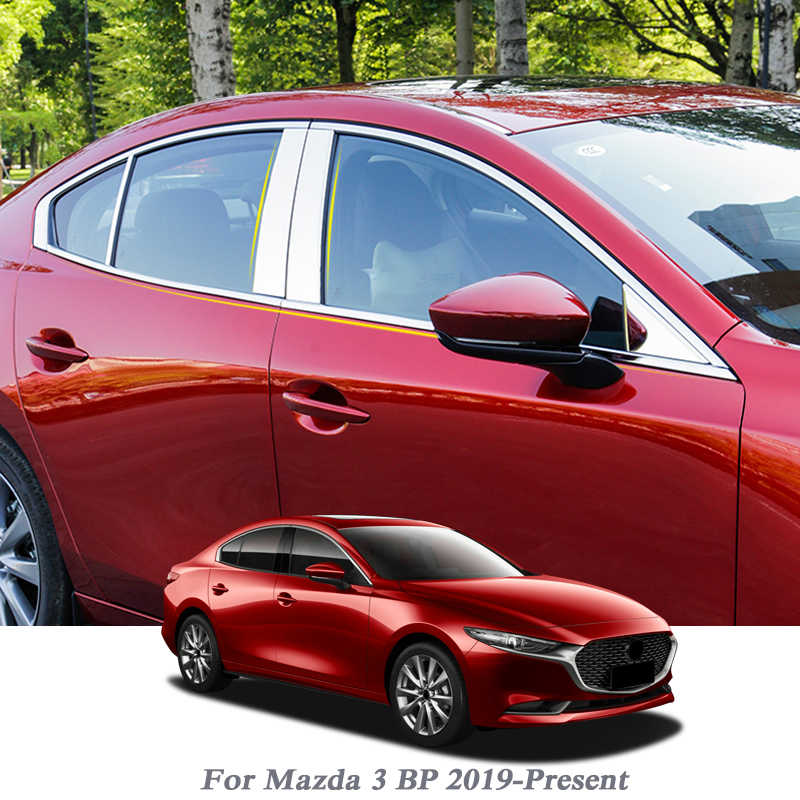 CPP Driver Side Chrome Plastic Grille Trim for 2014-2016 Mazda 3