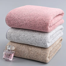 70x140cm Bamboo Charcoal Coral Velvet Bath Towel For Adult Soft Absorbent Microfiber Fabric Towel Household Bathroom Towel Sets(China)
