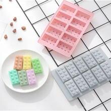 3d строительный блок креативные силиконовые формы для торта