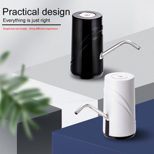 Portable USB Rechargeable Wireless Electric Mini Automatic 5 Gallon Plastic Bottled Drinking Water Dispenser Pump
