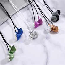 цена на Earphone In-ear Wire Control Phone Earphone Stereo Sports Waterproof Earbuds Wireless In-ear Headset