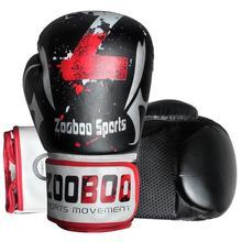 Европейский и американский стиль черно-белые с рисунком Муай Тай ММА Боксерские перчатки для взрослых мужчин и женщин боевые искусства Санда Figh