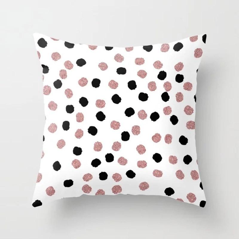 H3e358171132942aea4ce61574887bf7eU New 1PC Popular Cushion Case Geometric Tropic Pineapple Nordic Sofa Pink Pillow Decorative