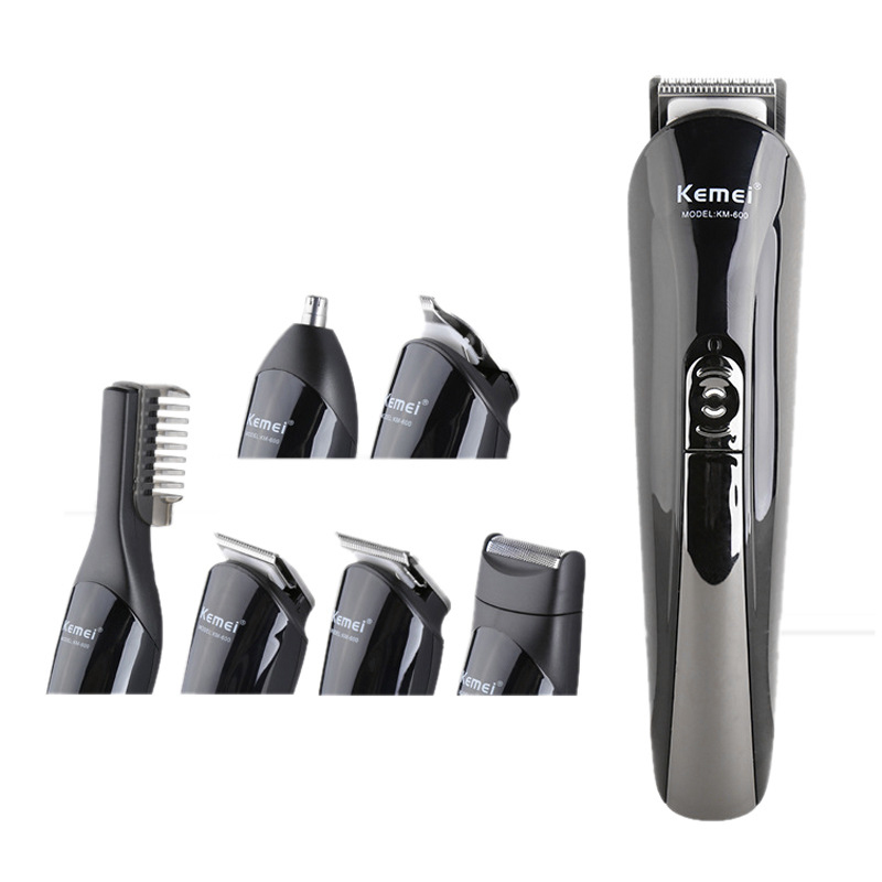 Professional Hair Trimmer Kit 6 In 1 Hairdressing Set Rechargeable Hair Clippers Cordless Multi functional Hair Cutting Machine|Hair Clippers| |  - title=