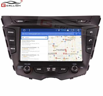 Android car stereo gps navigation dvd player for Hyundai Veloster 2007-2015
