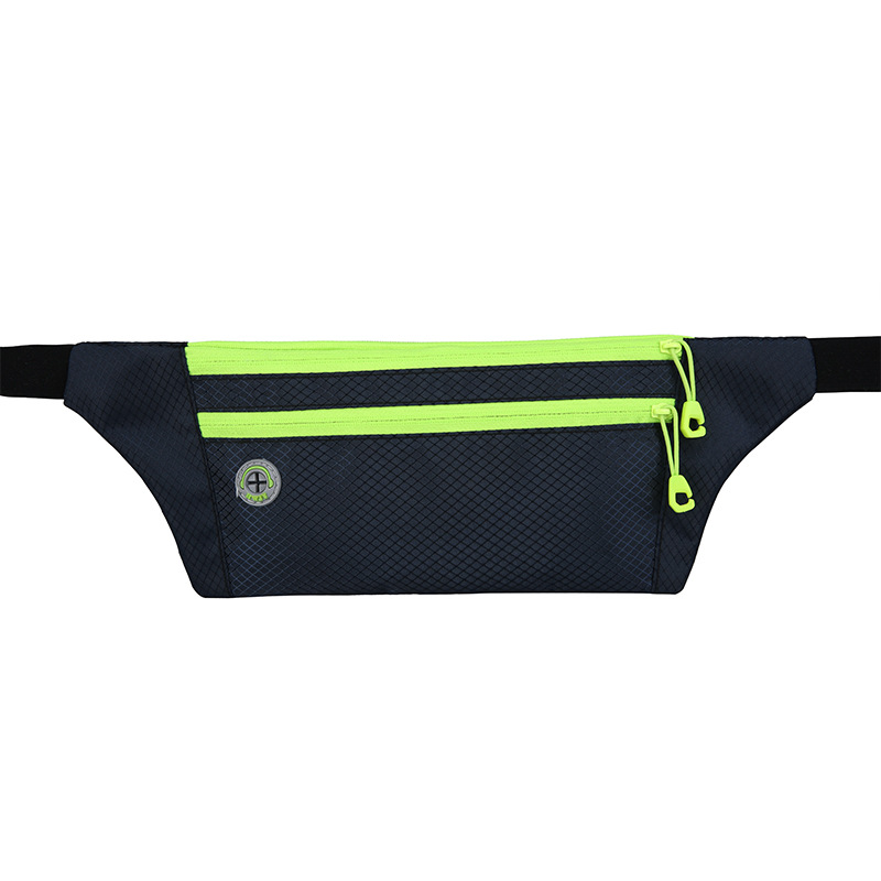 Running Workout Belt Phone Pouch Waist Fanny Pack Bag Anti theft Sport Pouch US