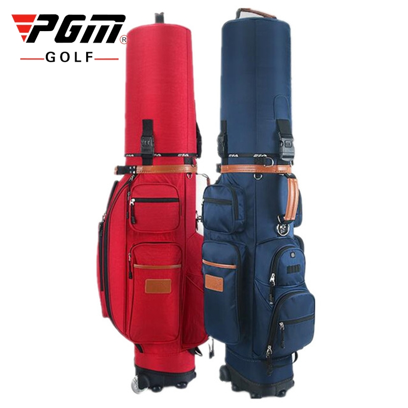 Professional Golf Gun Bag Portable Big Capacity Golf Rack Bags Large Capacity Ball Staff Bag Cover Waterproof Storage D0086