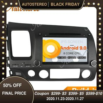 DSP Android 9 Car Head Unit Car CD DVD Player For Honda Civic 2006-2011 Autoradio GPS Navigation Tape Recorder Multimedia Player image