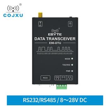 SX1262 SX1268 LoRa 433MHz Module RS232 RS485 COJXU E90-DTU(400SL22P) IoT Wireless Transceiver RSSI Modem sx1268 sx1262 lora module 433mhz wireless data transceiver cojxu e90 dtu 400sl30p 1w 10km long range rssi lbt ce fcc rohs modem
