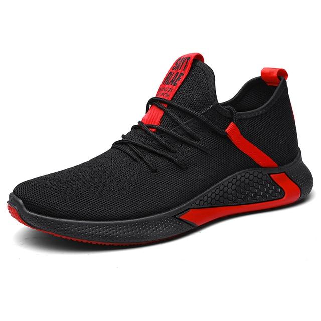 Zapatillas de estilo harajuku para hombre, zapatos baratos masculinos, informales, transpirables, con cordón, de buena calidad, marca de lujo, novedad de 2020 6