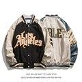 Новинка весна-осень 2021, бейсбольная куртка с вышивкой, Женское пальто, Мужская парная куртка-бомбер унисекс в стиле бойфренда, уличная хип-х...