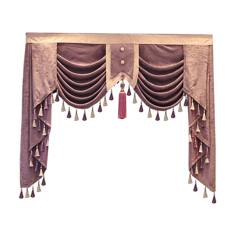 European And American Style High Quality Tailored Valance For