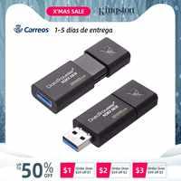 Original de alta velocidad de datasaveler USB 3,0 memoria USB de 32GB 64GB 128 GB 32 64 128 GB Pendrive DT100G3