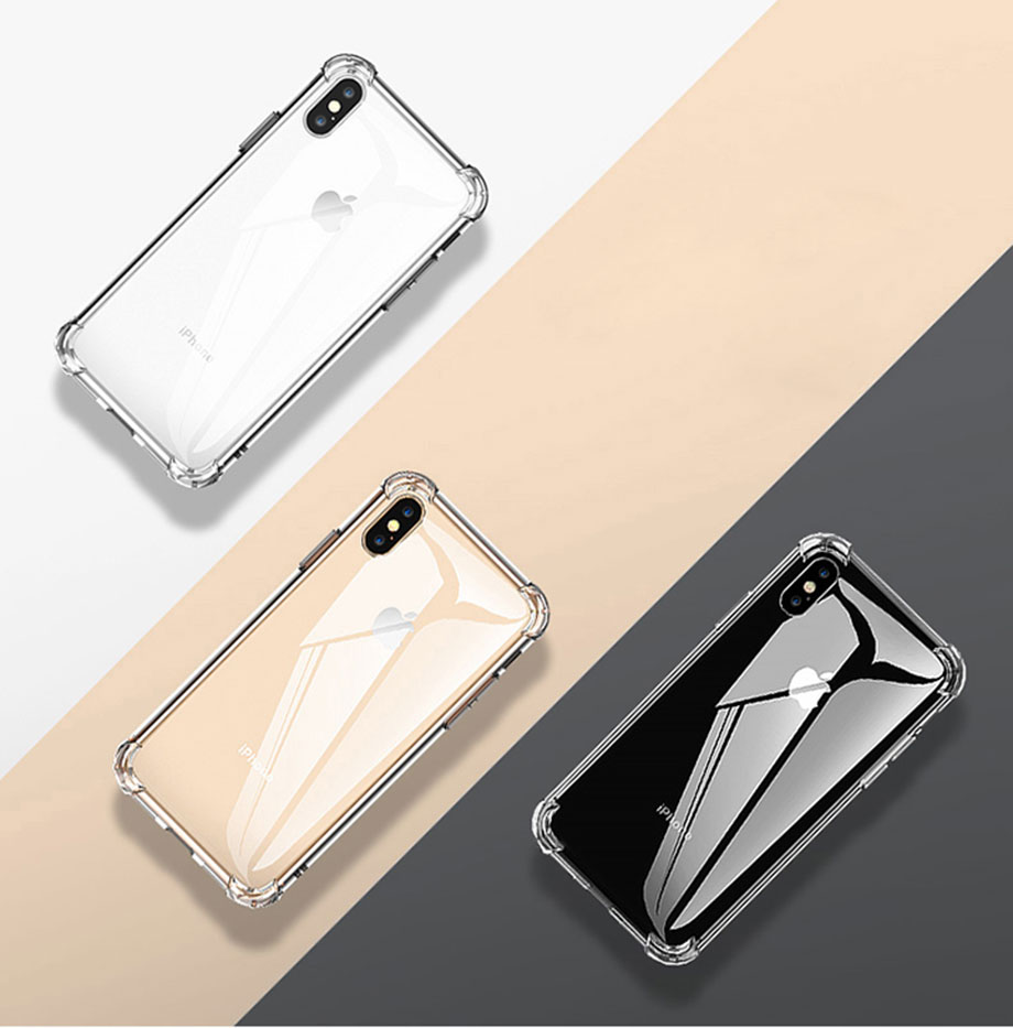 Shockproof Transparent Silicone Phone Case Best Sellers Phone Cases Smartphone Accessories CoolTech Gadgets free shipping |Activity trackers, Wireless headphones