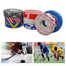 Hockey Stick Tape Multipurpose Colorful Sport Safety Cotton Cloth Enhances Ice field Hockey badminton Golf Tape(China)