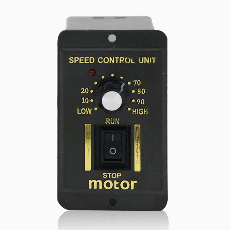 1pc 6 W-250 W AC 220V 50/60HZ Regulator prędkości silnika Pinpoint Regulator sterownik silnika do przodu i do tyłu