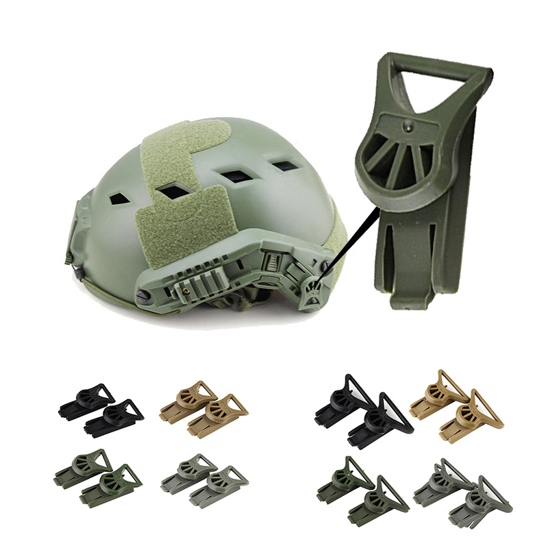 Tactical Buckle Goggle Swivel Clips Set 36mm for Fast ARC Helmet Side Rails