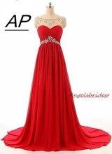 Angelsbridep милое ТРАПЕЦИЕВИДНОЕ шифоновое платье подружки невесты 2020 Robe Mariage Femme Кристаллы Длинные вечерние платья