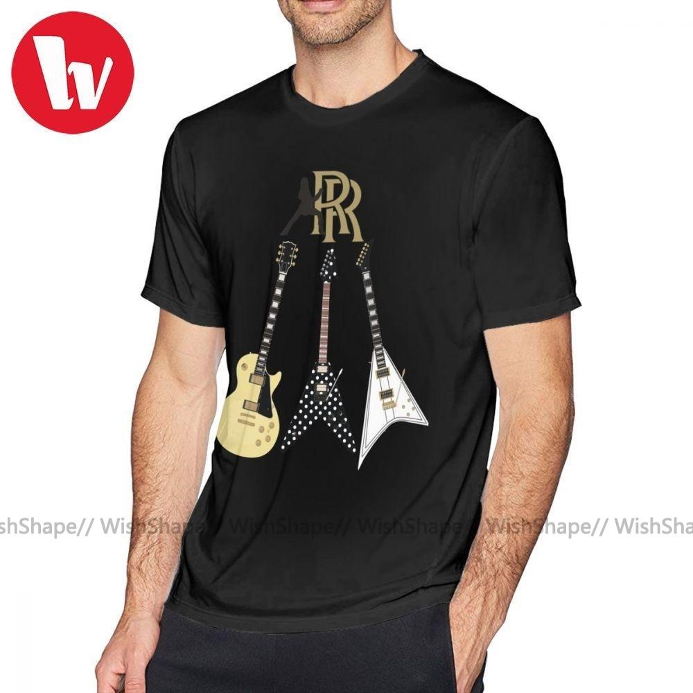 Ozzy Osbourne T Shirt Randy Rhoads Collection T-Shirt Man Printed Tee Shirt Short Sleeve Casual Awesome Cotton 4xl Tshirt