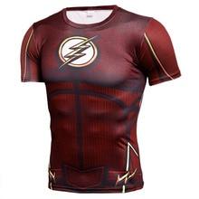 цена на Fitness T-shirt Men Compression Running Sport Short Sleeve Shirt Mens Gym Clothing Crossfit Top Quick Dry Rashgard Soccer Jersey