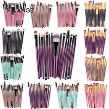 MAANGE Pro 15 шт. кисти для макияжа Набор теней для век Пудра карандаш для глаз с ресницами, губами Макияж Кисти Косметический Красота ящик для инструментов, лидер продаж