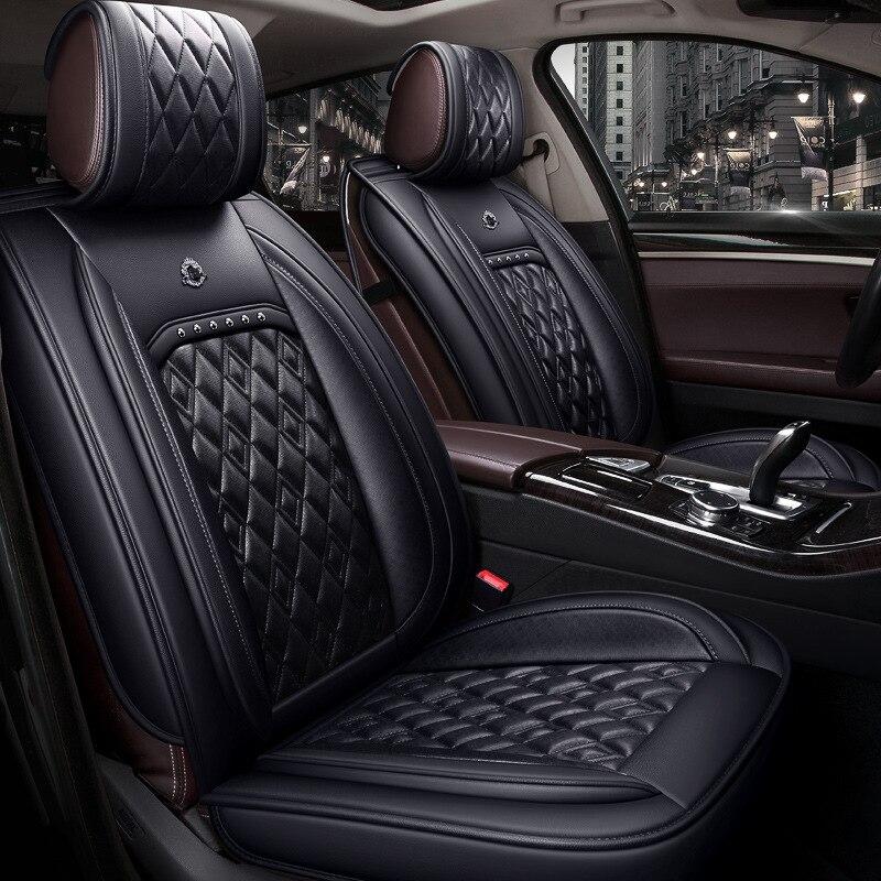2019 ling tu K ONE маленький SUV автомобильный чехол для сиденья четыре сезона универсальный полностью окруженный кожаный сетевой красный рессорна...