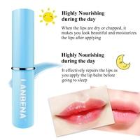 Hyaluronic Acid Long Lasting Nourishing Lip Balm Moisturizing Reduce Fine Lines Relieve Dryness Repair Damaged Lip Care LANBENA 4