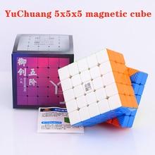 Puzzle Cube YJ Magnetic-5x5x5 Cubo Magico 3x3 Competition 4x4 2x2 Yongjun Yuchuang-M
